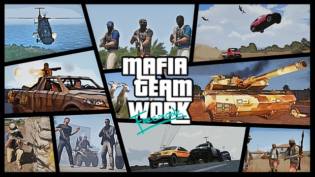 Mafia Team Work Freemode Wallpaper 01 Hi
