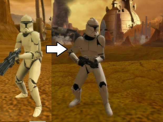 Updated phase 1 clone trooper