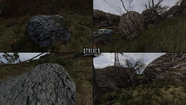 Yep. Those are rocks.