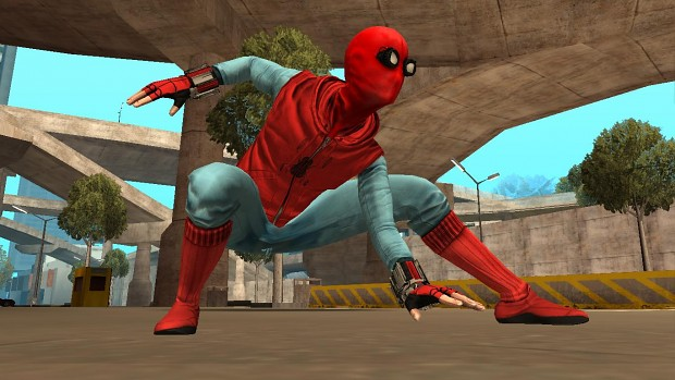Spiderman Landing