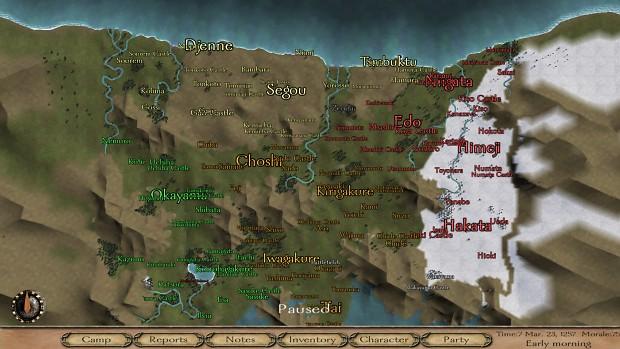 World Map image - Naruto Era of Shinobi mod for Mount ...