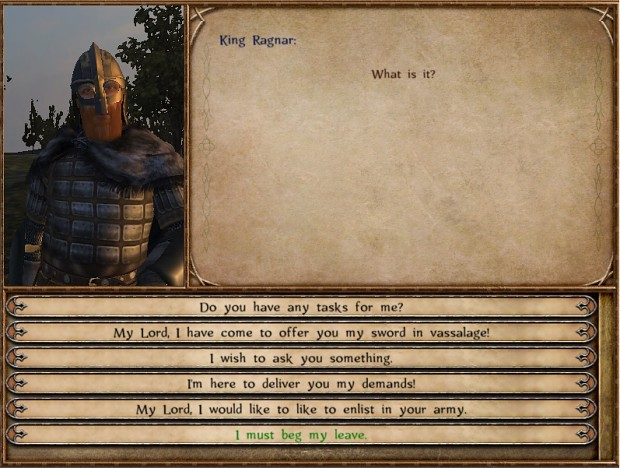 King Ragnar image - Calradia Conquer mod for Mount & Blade: Warband