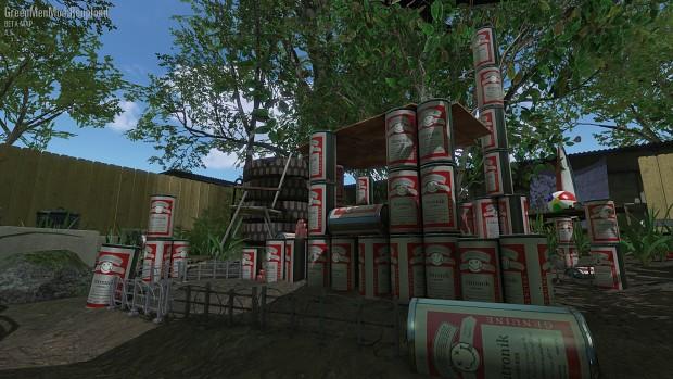 Beer cabin