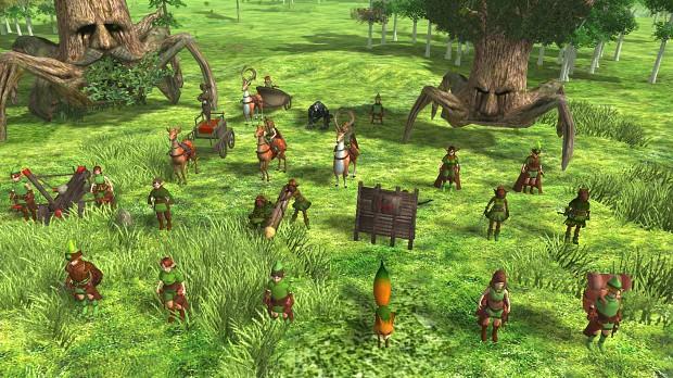 Kokiri Units, Heroes, Bases