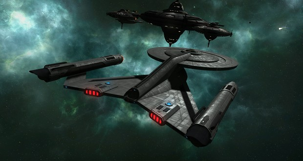 USS Discovery requesting personell