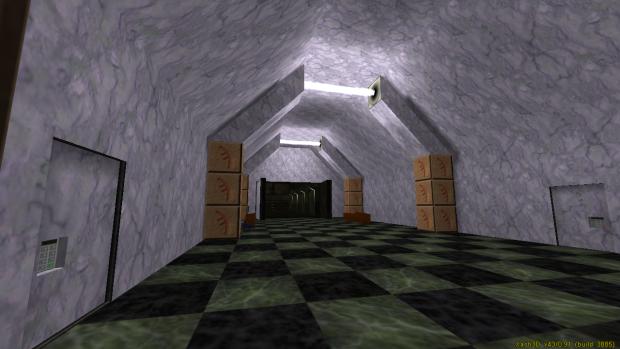 Sampi Deepcave station main entrance hall