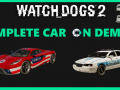 Watch_Dogs 2: Complete Car On Demand 1.1