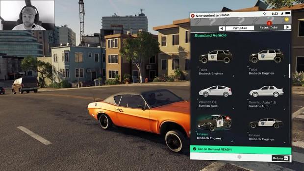 Watch Dogs 2: Vehicle Spawner / Car Spawner Mods (