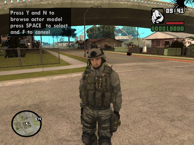ARMY SOLDIER FOR TRUE CRIMES OF CLOVER 2