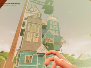 Hello, Neighbor! Alpha 3 Concept Art Remake (WIP)