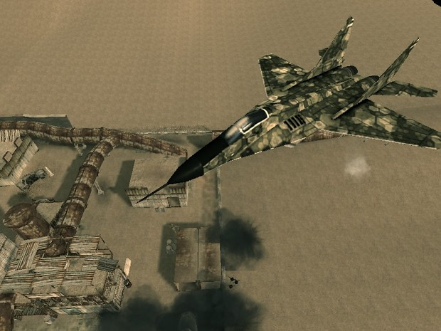 Airstrike new texture