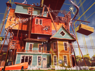 HELLO NEIGHBOR mod for JUNIORSKY