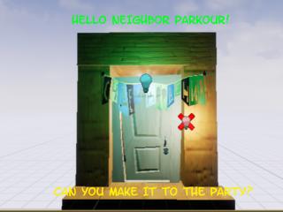 HelloNeighbor_Parkour