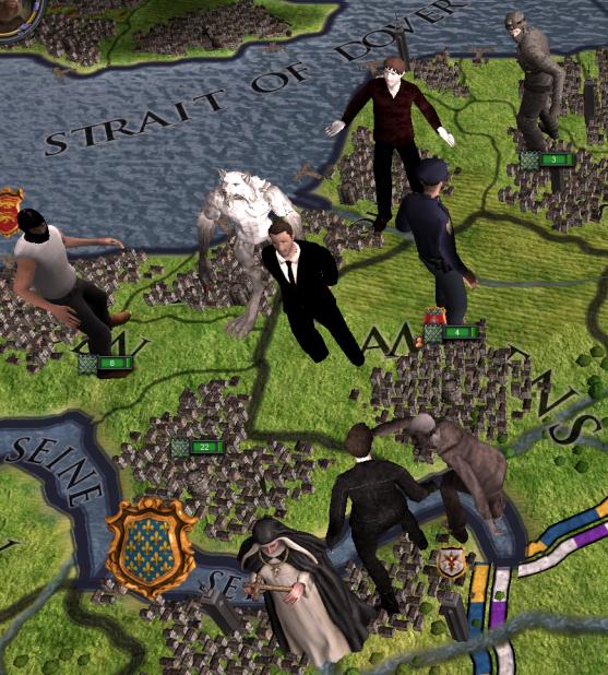 modern unit avatars