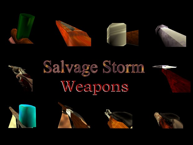 Salvage Storm Weapons