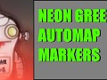 Neon Green Automap Markers
