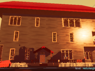 Hello Neighbor Alpha 2 Styled House