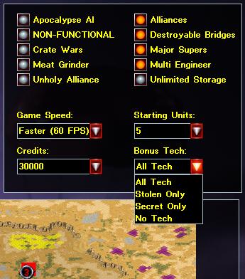 Bonus Techs