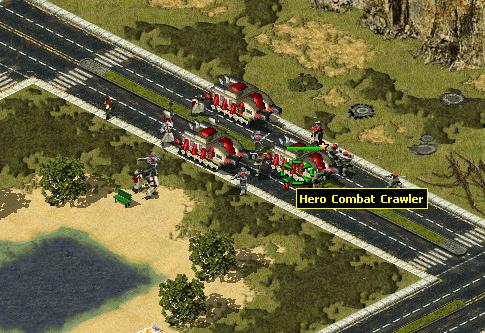 [Militia] Combat Crawler Improvements