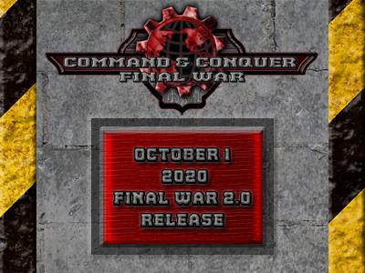 CnC: Final War 2.0 Release Date