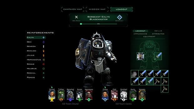 Deathwatch Storm Wardens Sergeant