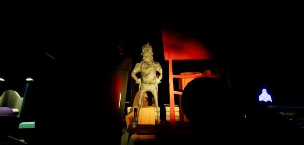 living hello neighbor statue 3