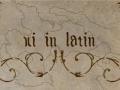 XI In Latin