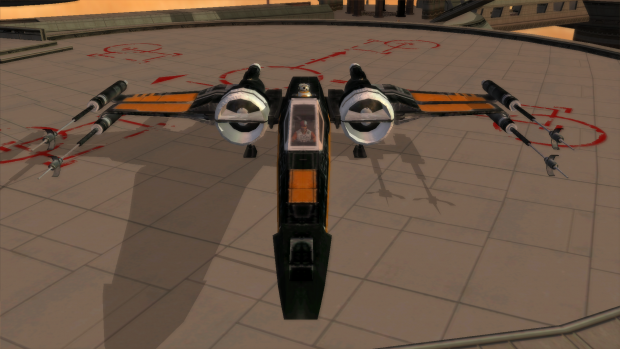 Poe's Black One X-Wing!
