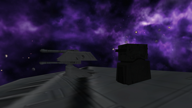 First Order Beam Turret and Triple-Barrel Cannon