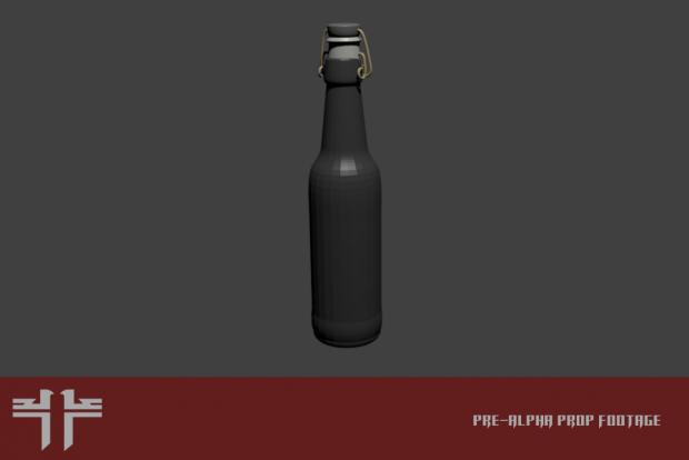 Beer bottle prop