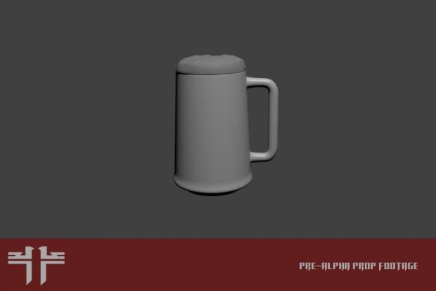 Beer mug prop