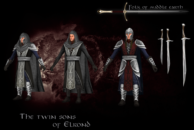 the twin sons of elrond