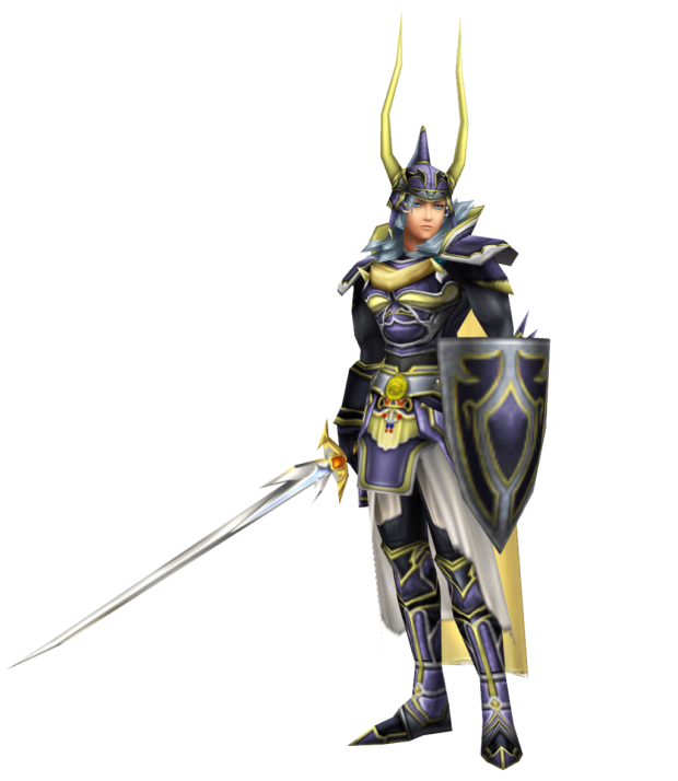 dissidia 012 warrior of light