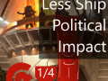 Reduced Ship Political Impact