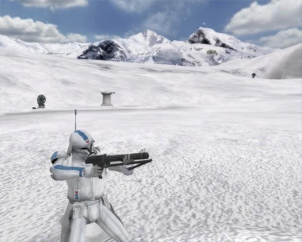 501st Snow Trooper