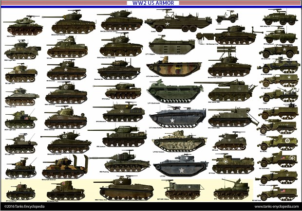 WW2 US and UK armored vehicles image - Battlefield 1944 mod