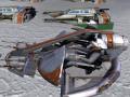 pre Snow speeder Crait 2