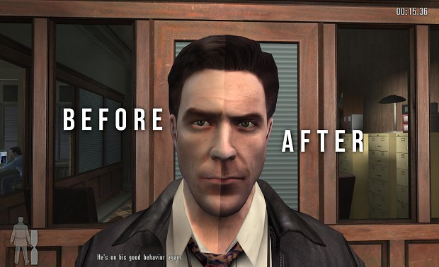 Max Payne Face Before And After Image Mod Db