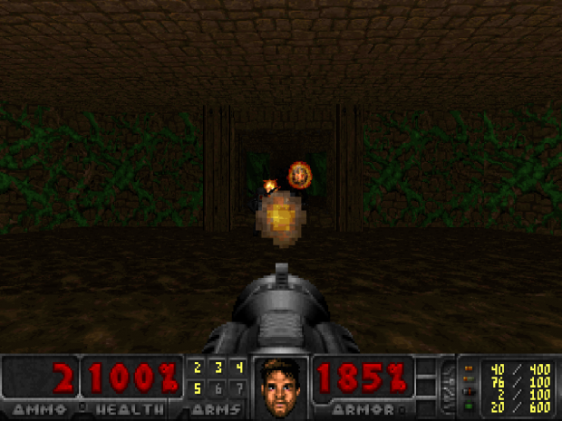Freedoom in Doom on Doom Retro