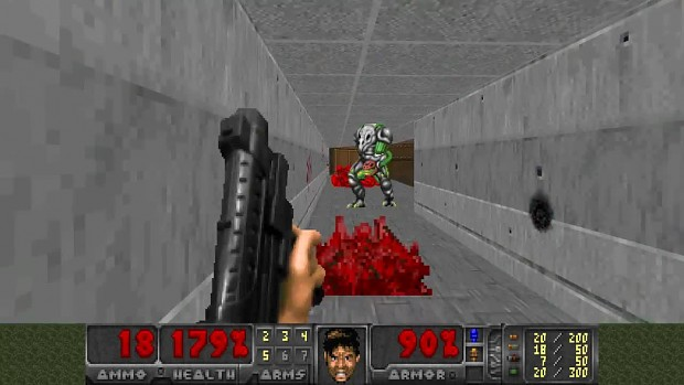 Doom But Everything is From Freedoom