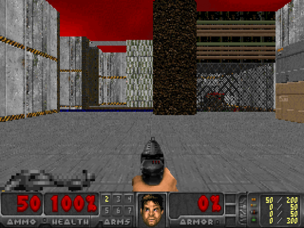 Freedoom in Doom 0.12.1: Habitat