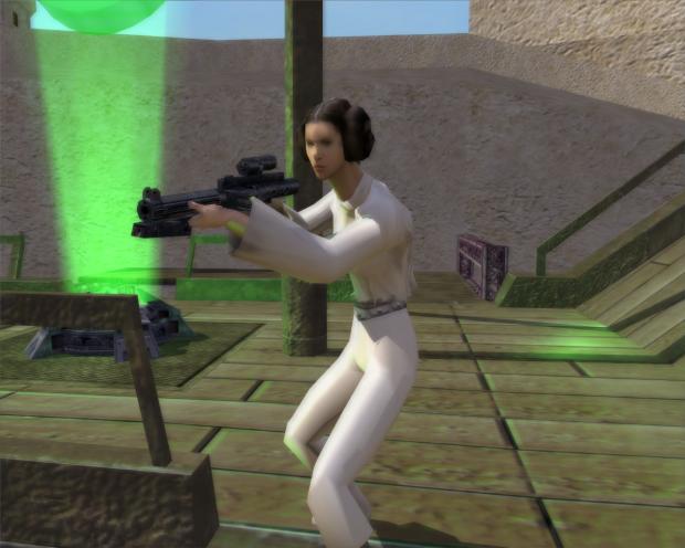 Princess Leia 2nd Weapon image - Star Wars Real Hero Side