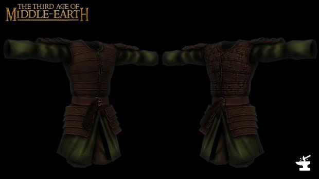 Rohan Militia Armor