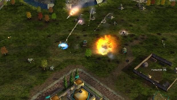 AI defending against emp-turrets
