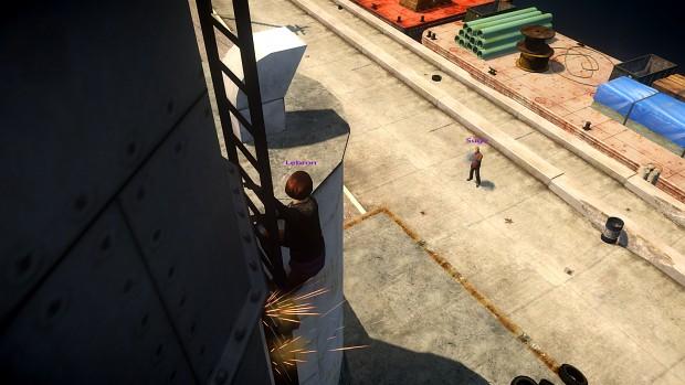 Vertical shooting sync