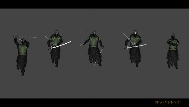Dual wielding Animation tests