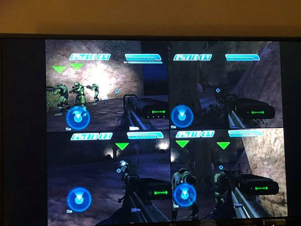 Image 3 - Halo ce xbox 4 player coop splitscreen mod for