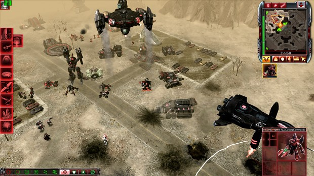 Skirmish scenes