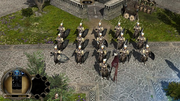 Dunedain Soldiers with second age skins.