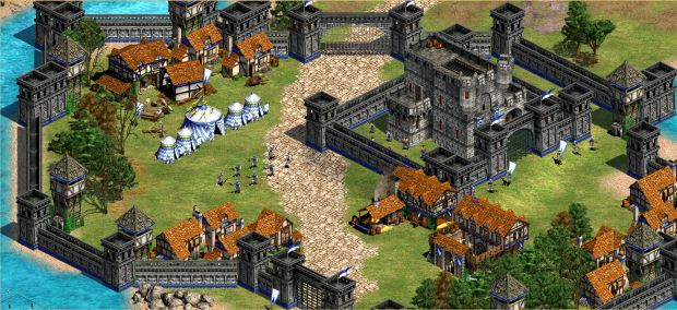 Brugge image - Witcher world map mod for Age of Empires II ...
